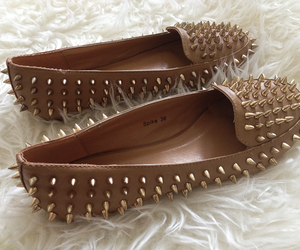 chic, loafers, and spike image