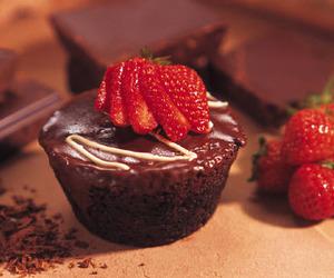chocolate, fruit, and dessert image