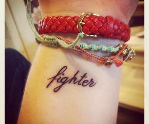 fighter, girl, and hand image