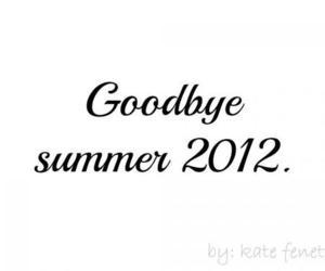 goodbye and summer image