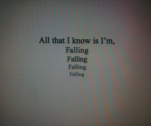 falling, quote, and text image