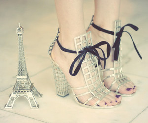 eiffel, paris, and fashion image
