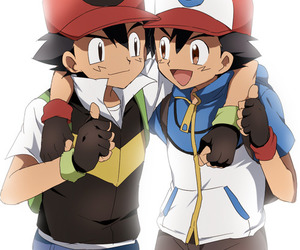 pokemon, ash, and ash ketchum image