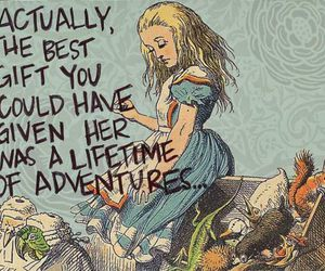 adventure, alice, and alice in wonderland image
