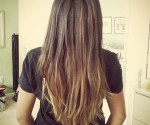 angela, hair, and ombre image