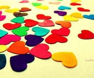 colors and heart image