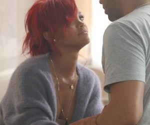 rihanna, Drake, and what's my name image