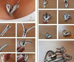 cool, necklase, and heart image