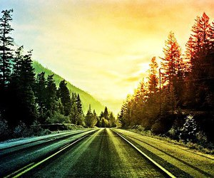 road, beautiful, and sky image