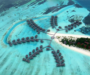 Maldives, beach, and place image