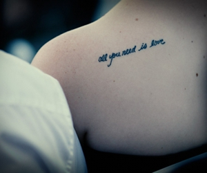 tattoo, love, and text image