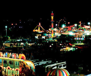 fair, festival, and lights image