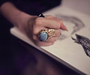 ring, YSL, and drawing image