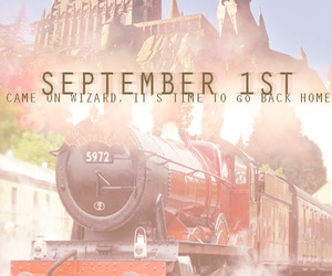 harry potter, hogwarts express, and memories image