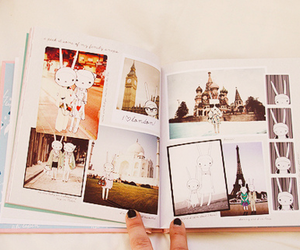 book, photography, and paris image