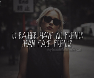 quote, friends, and fake image