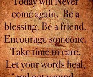 quote, life, and friends image