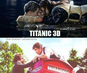 one direction, titanic, and 1d image