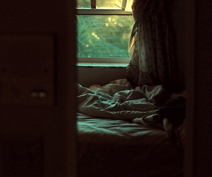 bed, indie, and room image