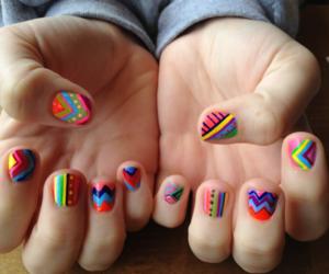 fashion, girls, and nails image