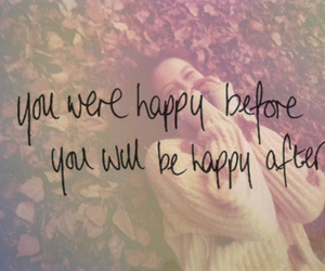 happy, quote, and after image