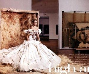 Couture, dior, and vogue image