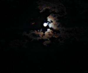 fullmoon, pretty, and scary image