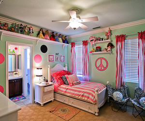 room, peace, and pink image
