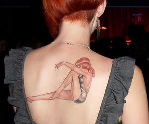 cool, Pin Up, and undercut image