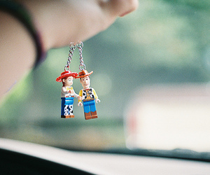 toy story, woody, and toys image
