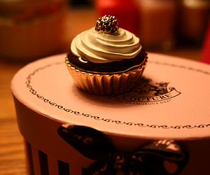 cupcake, juicy couture, and box image