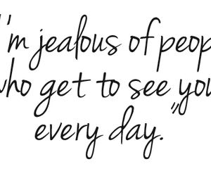 love, jealous, and quotes image