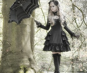 gothic, lovely, and sin image