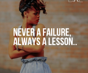 rihanna, quote, and lesson image