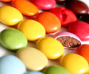 colors, m&ms, and yum image