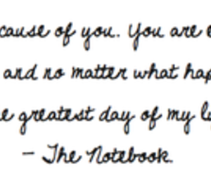 quotes, text, and the notebook image
