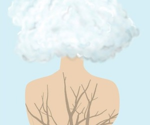 art, clouds, and free image