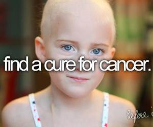 cancer, before i die, and cure image