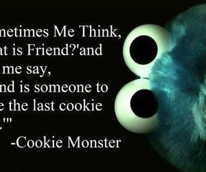 best friend, bff, and cookie image