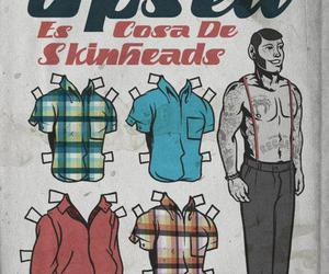 clothes, skinhead, and wear image