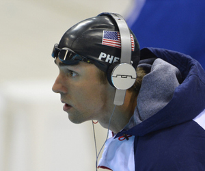 Michael Phelps, olympic, and swimmer image