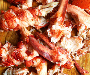 food, lobster, and fresh image