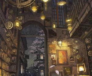 art, anime, and book image