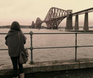 bridge, cardigan, and edinburgh image