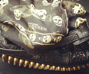 fashion, skull, and Alexander McQueen image