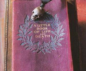book, life, and death image
