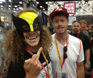 comic con, fuck you, and workaholics image