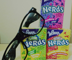 candies, candy, and nerd image