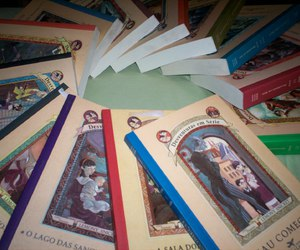 A Series of Unfortunate Events, books, and lemony snicket image