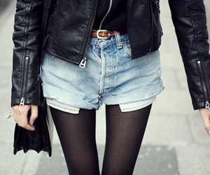 black, legs, and model image